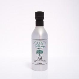 Huile aromatisée à l'ail / Oleiades