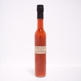 Vinaigre à la pulpe de tomate & basilic