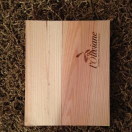 Caisse cadeau en bois